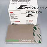 20-PKG 3M MICRO FINE GRIT 1200-1500 Softback Sanding Sponge Hand Abrasive Sheet 02600 - Model Electronic