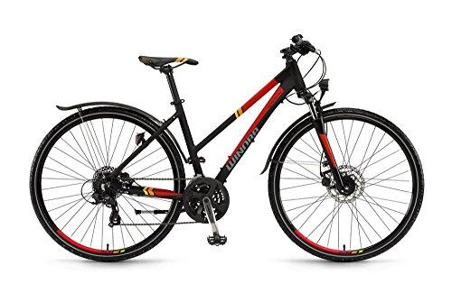 Winora Vatoa 28 Zoll Trekkingrad Damen Schwarz/Rot/Orange Matt (2016)