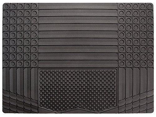Daytona KR1, Allwetter Kofferraummatte  in schwarz | 1-teiliger zuschneidbarer Kofferraumschutz | Antirutsch Matte für Kofferraum | Allwetter Laderaumschutz | Auto Schmutzfangmatte