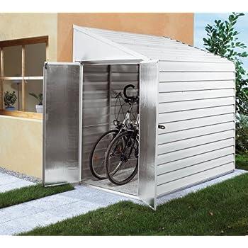 tepro 7165 fahrradbox f r bis zu 4 fahrr der garten. Black Bedroom Furniture Sets. Home Design Ideas