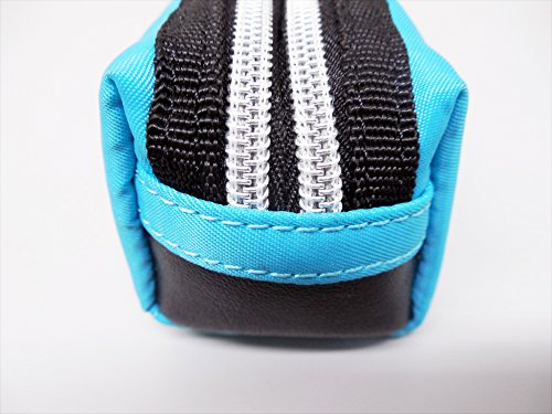 Raymay Double Zipper Color Pencil Case Black