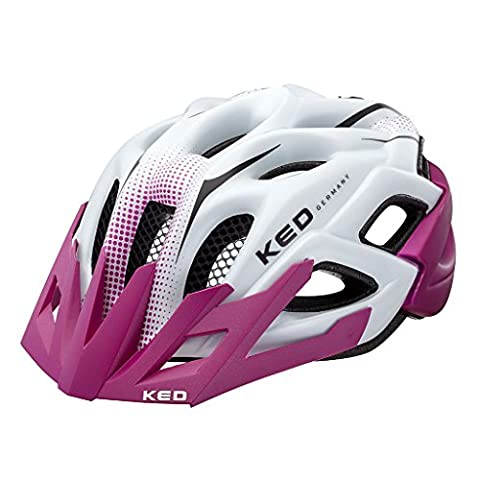KED STATUS JUNIOR 2016 child and adolescent bicycle helmet, helm größen:52-58 cm;Ked Farbe 2015 (+SIze):violet