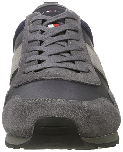 Tommy Hilfiger M2285axwell 11c5, Basses Homme Gris (Magnet-Midnight)
