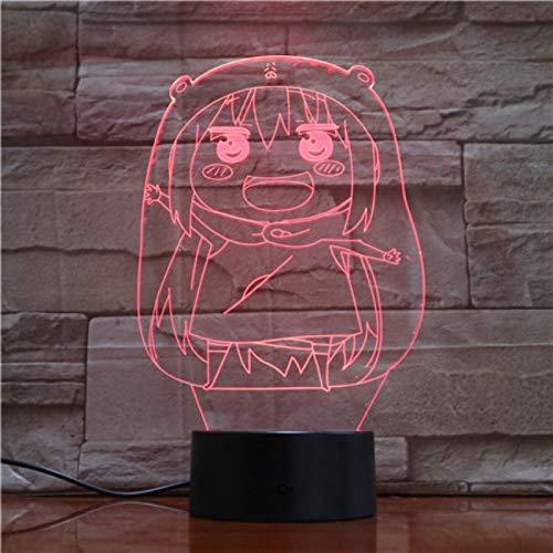 Himouto Umaru-chan Figur Kindernachtlicht LED Touch Sensor Schlafzimmer Dekoration Licht Weihnachtsgeschenk Mädchen Nachtlicht USB