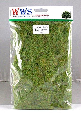 WWS Summer 10mm Mix Modèle Basant l'herbe statique 10g G, O, HO / OO, TT, N.Z Wargames