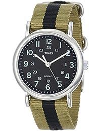 Timex Weekender Analog Black Dial Unisex Watch - T2P236
