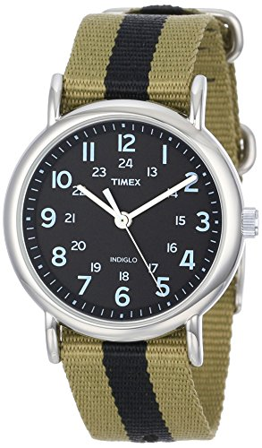 Timex Weekender Analog Black Dial Unisex Watch - T2P236  available at amazon for Rs.1257