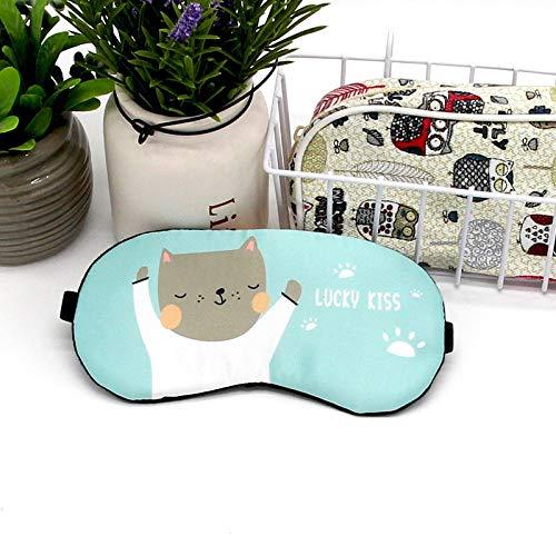 NOTE Cotton Sleep Eye Mask Ice Compress Cartoon Anime Eye Cover Kids Cute Sleeping Mask Cold Packs Gel Travel Rest Bindfold