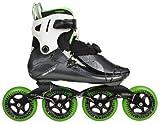 Powerslide Inlineskate V 100, schwarz weiß grün, 41, 500002/41