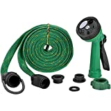#7: Shreeji Ethnic Multifunctional Water Spray Gun for Plants Car Wash for Garden with Hose Pipe Indoor Outdoor Withra High Pressure Washer 10 Mtr (Green)