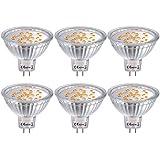 6X MR16 Bombillas LED GU5.3, Bombillas LED Foco 12V 4W, 35W Luz