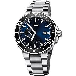 Reloj Oris 74377334135-0782405PEB Plata Acero 316 L Hombre