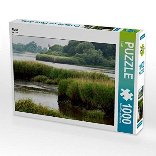 Fluss 1000 Teile Puzzle quer (CALVENDO Wissen)