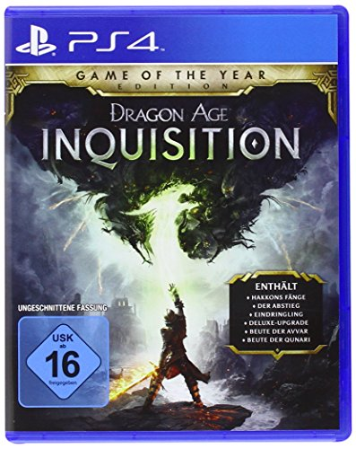 Electronic Arts Dragon Age: Inquisition GotYE PS4 Basic PlayStation 4 German video game - Video Games (PlayStation 4, RPG (Role-Playing Game), M (Mature))
