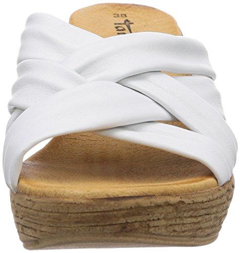 Tamaris 27231, Sandali donna Bianco (bianco (White 100))