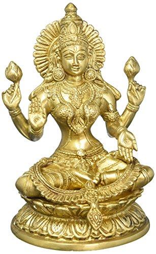 large-9-laxmi-statue-goddess-brass-lakshmi-hindu-idol-religious-metal-gift-home-decor-craftvatika