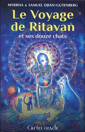 Le voyage de Ritavan et ses 12 chats : 76 cartes oracle et un livre