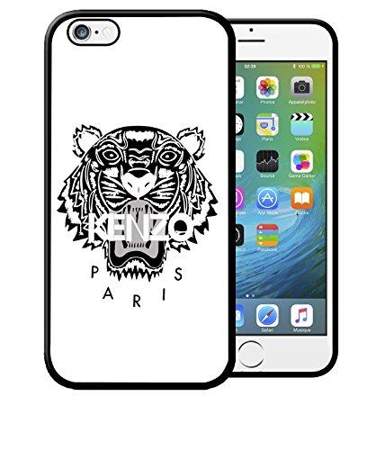 Coque Iphone 5 5S Kenzo Paris Blanc Etui Housse Bumper