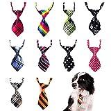 Pizies Krawatte für Hunde und Katzen, 10 Stück