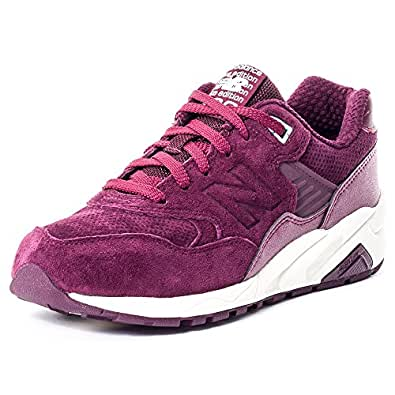 New Balance 580 Meteorite Femme Baskets Mode Bordeaux