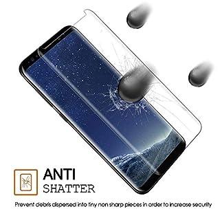 Temsesen Samsung Galaxy S8 Panzerglas schutzfolie