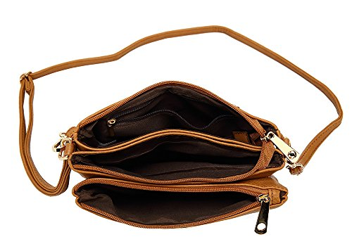 a Borsa Craze London Brown tracolla Craze London Donna wqUOxnI