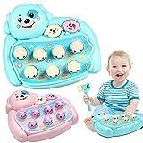 Quaan Musik Lehrreich Spielzeuge 1PC Kinder Spielzeuge Elektrisch Spielen Hamster Spielzeuge zum Geschenk Kinder Baby (Blau, 23 x 9 x 25.5cm)