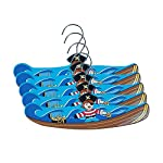 Kidorable Kids Set Of 5 Pirate Wooden Hangers (Small)