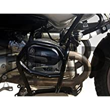Defensa protector de motor Heed BMW R 1150 GS Adventure (01-05) - Bunker, negro