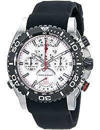 (CERTIFIED REFURBISHED) Bulova Precisionist Analog Silver Dial Men's Watch - 98B210