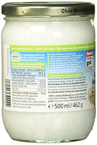 Dr. Goerg Premium Bio-Kokosöl 500 ml - 3
