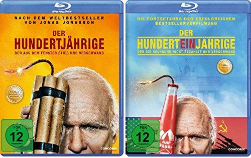 Der Hundertjährige … / Der Hunderteinjährige … im Set - Deutsche Originalware [2 Blu-rays]