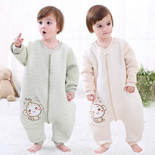 0-1T Verde Label 80 BabyFat Sacco Nanna//Pigiama con piedini Neonato Bambino Autunno//invernale 2.5tog Pecora
