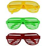 12 x Partybrille Atzenbrille Party Brille Atzen Brille
