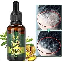 Suero para el crecimiento del cabello - Extracto de planta natural de jengibre