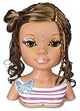 Nancy - Un día de secretos de belleza: muñeca morena, accesorios de maquillaje y peluquería...