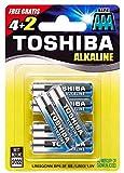 TOSHIBA 6 AAA Micro, LR3 Batterie Alkaline 1,5V Extra Power, 1 x 6er Pack, f�r Spielzeug Kamera Uhren Fernbedienung sofort einsatzbereit