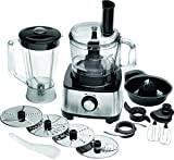 ProfiCook PC-KM 1063 1200W 1.75L Black,Stainless steel food processor - Food Processors (1.75 L, Black, Stainless steel, 1200 W, 220-240, 50/60)