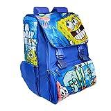Spongebob School Bag Rucksack Extending Backpack Boys Girls Kids Sports Swimming (Spongebob Blue)