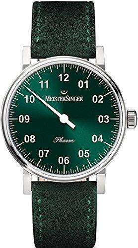 MeisterSinger Phanero PH309 Reloj con sólo una aguja Clásico & sencillo