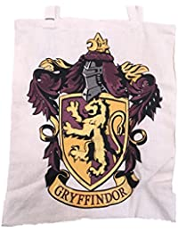 fd9211a238 Harry Potter Canvas Cotton Tote Shopping Bag Team Gryffindor 41x35x11cm  (40cm x 35cm x 12cm