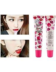 5 Farben Magic Tattoo Peel off Lipgloss Wasserfest Nicht Verblassen Long Lasting Lippenstift Lippentattoo Glial Lipstick 1 Stück Molie