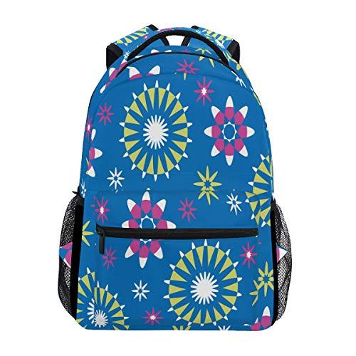 Schultasche Backpacks Floral Print Student Backpack Big for Girls Kids Elementary Schultasche Shoulder Bag Bookbag -