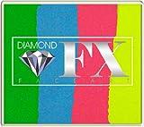Diamond FX 50g Split Cake Face Paint ~ Happy Birthday (RS50-98) by Diamond FX Split Cakes