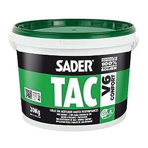 Colle acrylique sol SADERTAC V6 CONFORT - 6 Kg