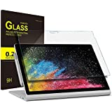 IVSO Surface Book 2 2018 13 Inch Tempered Glass Tablet Screen Protector Ultra Thin 9H Hardness & Highest Quality HD Clear Glass Screen Protector For Surface Book 2 2018 13 Inch Tablet