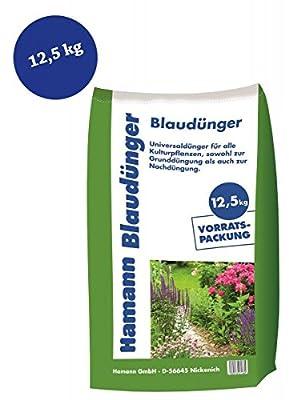 12,5kg Sack Blaudünger Blaukorn Universaldünger NPK Rasendünger - Volldünger mit allen Hauptnährstoffen für Ihren Garten von Hamann Mercatus GmbH auf Du und dein Garten