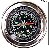 ROYALS Stainless Steel Directional Magnetic Compass