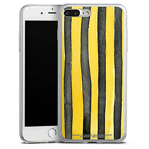 Apple iPhone X Slim Case Silikon Hülle Schutzhülle Janosch Fanartikel Merchandise Tigerentenclub Silikon Slim Case transparent