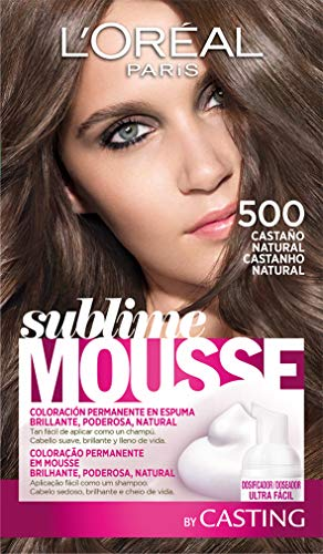 L'Oréal Paris  Sublime Mousse Tinte en Espuma Coloración Castaño Natural - 500 ml